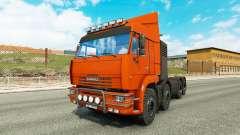 КамАЗ 65201 v1.1 для Euro Truck Simulator 2