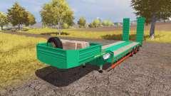 Aguas-Tenias lowboy v3.0 для Farming Simulator 2013