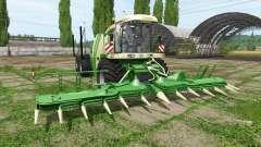 Krone BiG X 1100 ITC для Farming Simulator 2017