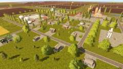 Canadian national map для Farming Simulator 2017