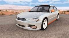 Hirochi Sunburst hatchback v1.01 для BeamNG Drive