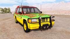 Gavril Roamer Tour Car Jurassic Park v1.0 для BeamNG Drive