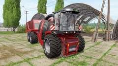Krone BiG X 1100 cargo v2.0 для Farming Simulator 2017
