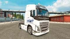 Скин Еконт Експрес на тягач Volvo