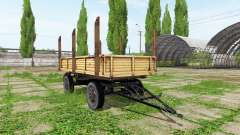 Timber trailer automatic loading