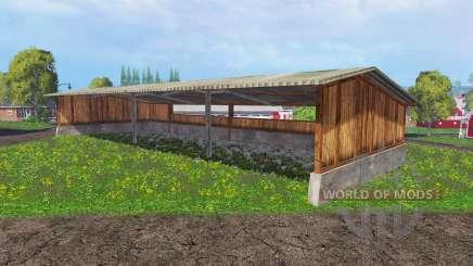 Halls для Farming Simulator 2015