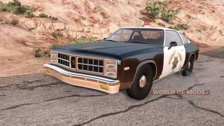 Bruckell Moonhawk California highway patrol для BeamNG Drive