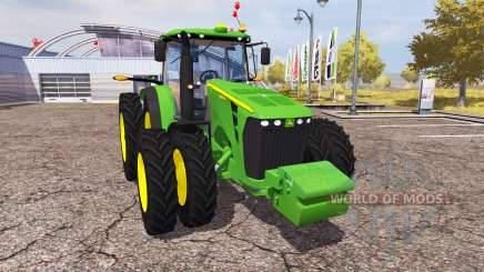 John Deere 8345R v1.1 для Farming Simulator 2013