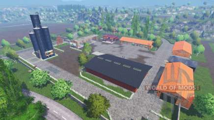 Хагенштедт для Farming Simulator 2015