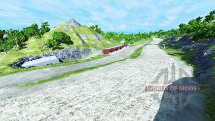 XValley raceway для BeamNG Drive