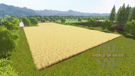 Villeneuve sous Charigny для Farming Simulator 2017