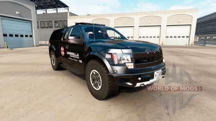 Ford F-150 SVT Raptor v2.2.1 для American Truck Simulator