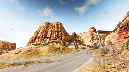 Canyon of speed v1.8 для BeamNG Drive