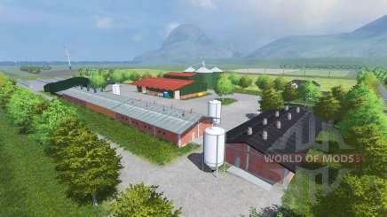 Oberhessen для Farming Simulator 2013