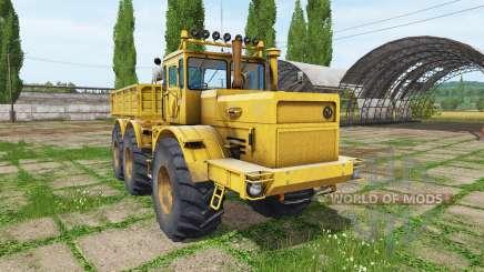 Кировец К 701 6x6 для Farming Simulator 2017