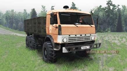 КамАЗ 43114 для Spin Tires