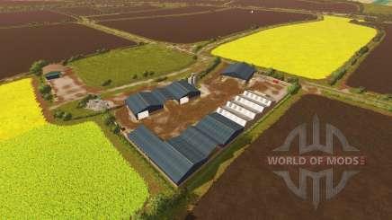Knuston Farm v1.2 для Farming Simulator 2017