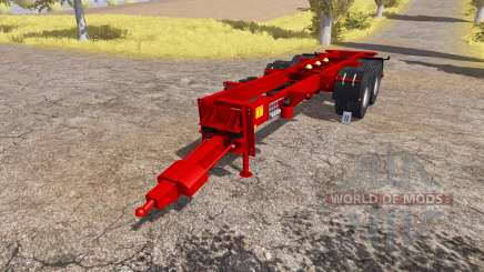 Krampe chassis для Farming Simulator 2013