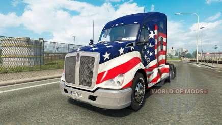 Kenworth T680 v1.2 для Euro Truck Simulator 2