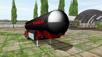Fuel trailer для Farming Simulator 2017
