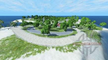 Rally island v1.1 для BeamNG Drive