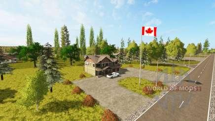 Canadian national map v1.1 для Farming Simulator 2017