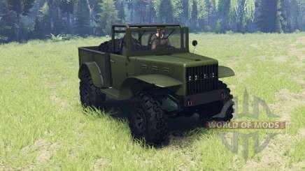 Dodge M37 1941 для Spin Tires