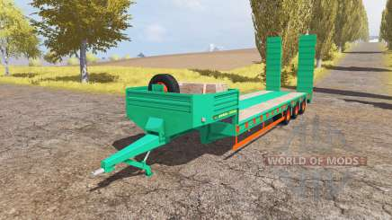Aguas-Tenias lowboy 3-axis v2.0 для Farming Simulator 2013