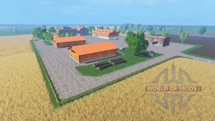 Northern agricultural map для Farming Simulator 2015