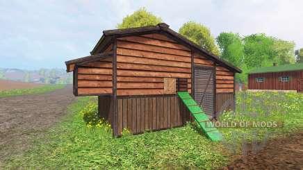 Chicken coop v2.0 для Farming Simulator 2015