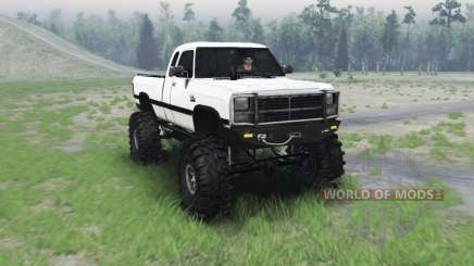 Dodge Power Ram 250 1991 для Spin Tires