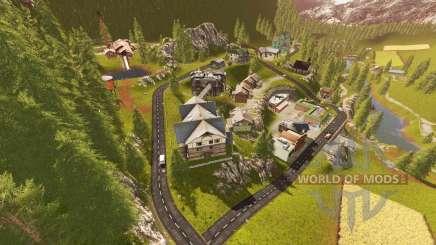Goldcrest Mountains для Farming Simulator 2017