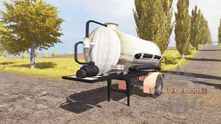 Manure semitrailer v2.0 для Farming Simulator 2013