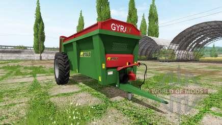 Gyrax EBMX 155 для Farming Simulator 2017