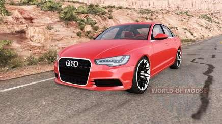 Audi A6 (C7) v1.3 для BeamNG Drive