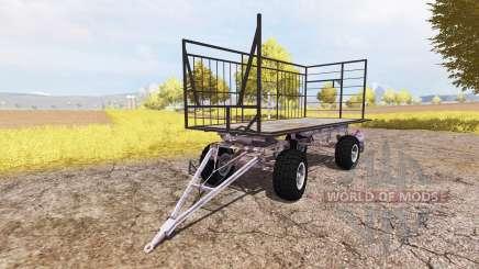 Bale trailer v3.0 для Farming Simulator 2013