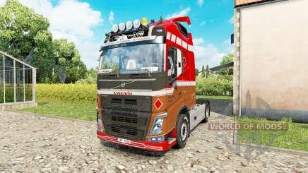 Volvo FH 540 для Euro Truck Simulator 2