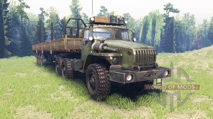 Урал 4320-41 v4.0 для Spin Tires