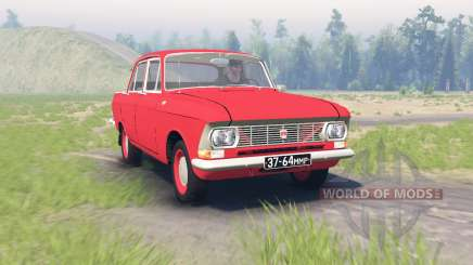 Москвич 412 v2.0 для Spin Tires