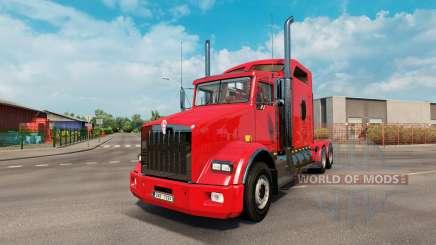 Kenworth T800 v2.2 для Euro Truck Simulator 2