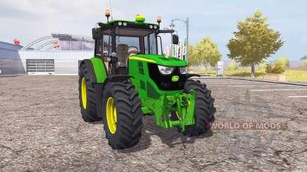 John Deere 6115M v2.0 для Farming Simulator 2013