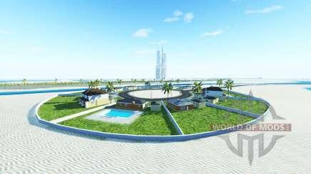 Emirate island v1.4 для BeamNG Drive