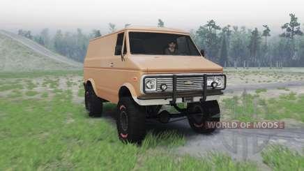 Chevrolet G10 1975 для Spin Tires