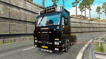 Scania 143M 450 Van Londen для Euro Truck Simulator 2