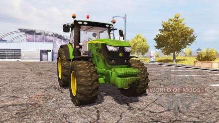John Deere 6170R v2.0 для Farming Simulator 2013
