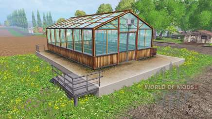 Hemp greenhouse для Farming Simulator 2015
