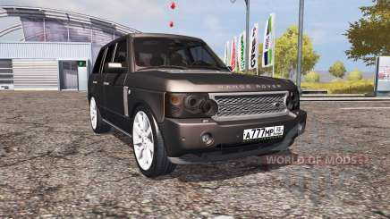 Land Rover Range Rover Supercharged (L322) v2.0 для Farming Simulator 2013