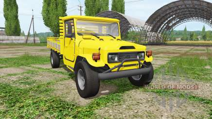 Toyota Land Cruiser Bandeirante (OJ55LP) для Farming Simulator 2017