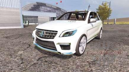 Mercedes-Benz ML 63 AMG (W166) для Farming Simulator 2013