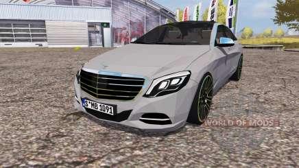 Mercedes-Benz S 350 (V222) 2014 для Farming Simulator 2013